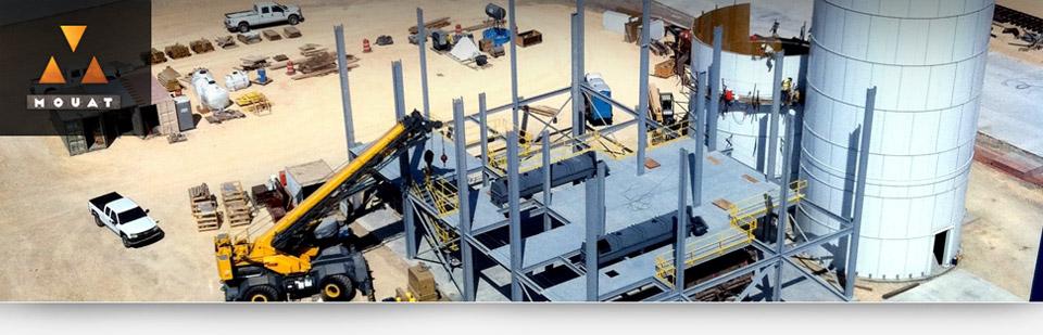 Resin Coating Frac Sand Plant Header