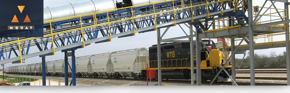 mouat frac sand rail hub