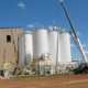 Dry Frac Sand Load Out Silos