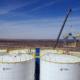 Construction of Permian Frac Sand Transload Plant